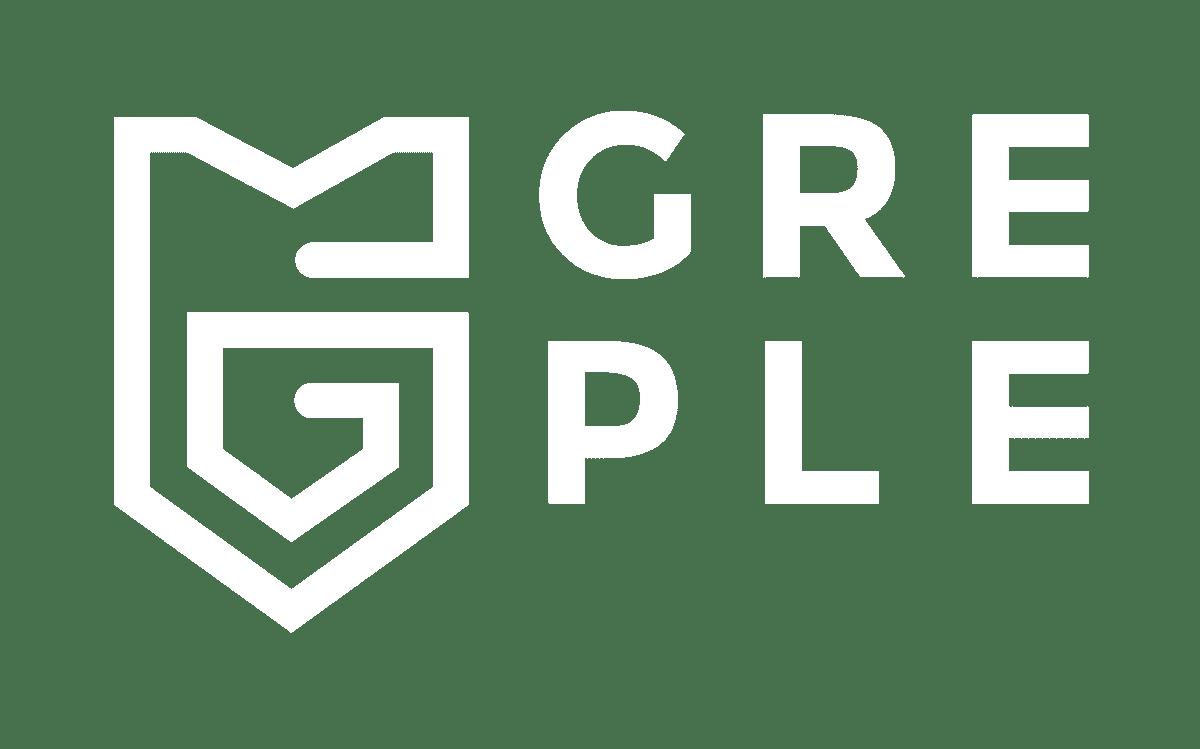 GREPLE Logo weiß